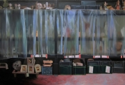 Coraline de Chiara_L' attente_2017_Oil on canvas 200 x 300 cm_Galerie Claire Gastaud