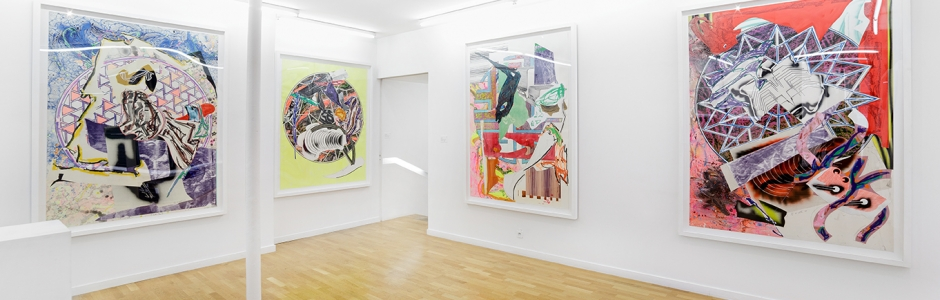 Frank STELLA, The Waves, Galerie Claire Gastaud, 2019